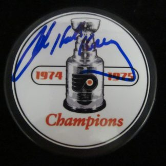 Philadelphia Flyers Bob Kelly Autographed Puck