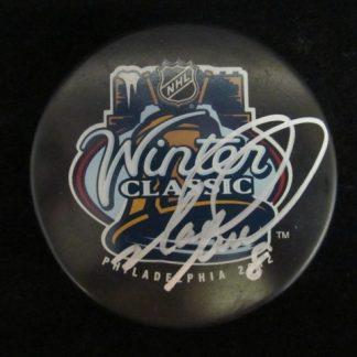 Philadelphia Flyers Mark Recchi Autographed Puck