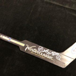 Philadelphia Flyers Neil Little Autographed Mini Goalie Stick Winter Classic