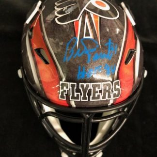 Philadelphia Flyers Bernie Parent Autographed Mini Goalie Mask