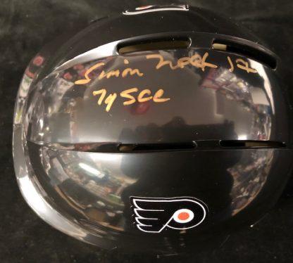 Philadelphia Flyers Simon Nolet Autographed Mini Helmet