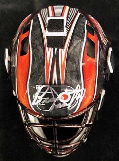 Philadelphia Flyers Bernie Parent Autographed Mini Goalie Mask