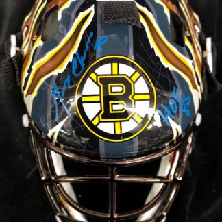 Boston Bruins Gerry Cheevers Autographed Mini Goalie Mask