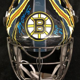 Boston Bruins Gerry Cheevers Autographed Full Size Goalie Mask