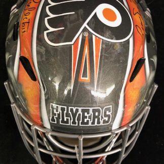 Philadelphia Flyers Parent / Hextall Autographed Full Size Goalie Mask