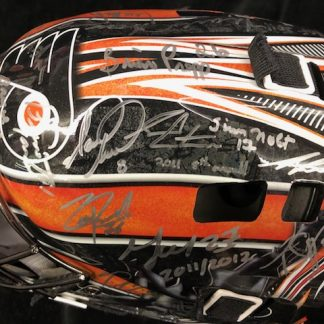 Philadelphia Flyers Multi 26 Player Autographed Full Size Goalie Mask