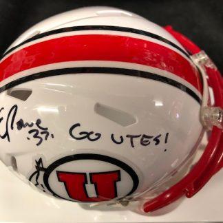Utep Eric Rowe Autpgraphed Mini Helmet