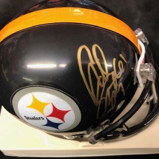 Pittsburgh Steelers A.Q. Shipley Autographed Mini Helmet