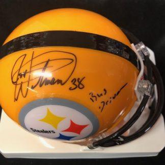 Pittsburgh Steelers Jon Witman Autographed Mini Helmet