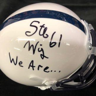 Penn State Nittany Lions Stefen Wisniewski Autographed Mini Helmet