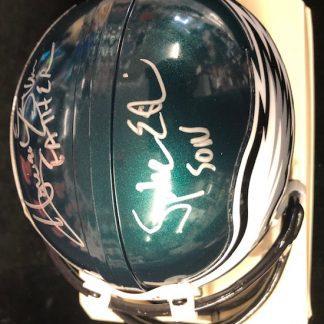 Philadelphia Eagles Eskin / Eskin Autographed Mini Helmet