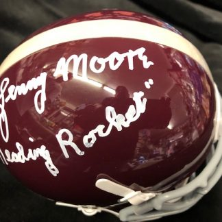 Reading High School Lenny Moore Autographed Mini Helmet