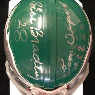 Philadelphia Eagles Bradley / Dempsey Autographed Mini Helmet