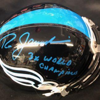 Philadelphia Soul Ron Jaworski Autographed Mini Helmet