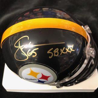 Pittsburgh Steelers John Jackson Autographed Mini Helmet