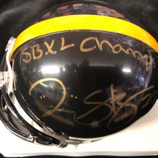Pittsburgh Steelers Duce Staley Autographed Mini Helmet