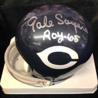 Chicago Bears Gale Sayers Autographed Mini Helmet