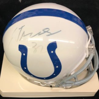 Indianapolis Colts Edgerrin James Autographed Mini Helmet