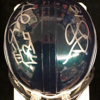 Philadelphia Eagles Baskett / Stalloworth Autographed Mini Helmet