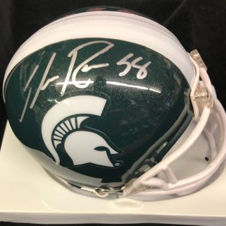 Michigan State Spartans Ike Reese Autographed Mini Helmet
