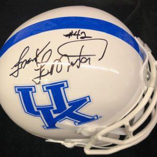 Kentucky WIldcats Frank Lemaster Autographed Mini Helmet