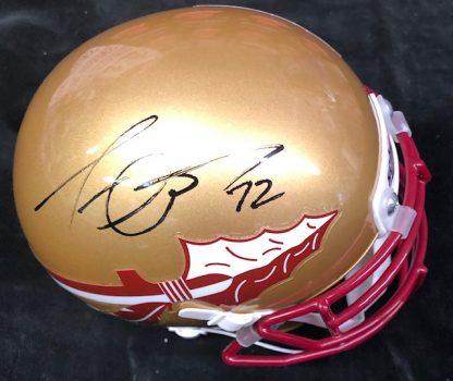 Florida State Seminoles Tra Thomas Autographed Mini Helmet