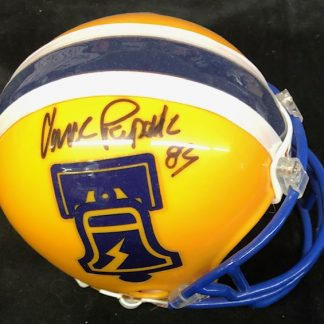 Philadelphia Bell Vince Papale Autographed Mini Helmet