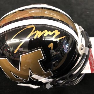 Missouri Tiger Jeremy Maclin Autographed Mini Helmet