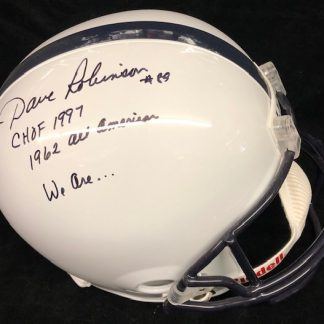 Penn State Dave Robinson Full Size Autographed Helmet