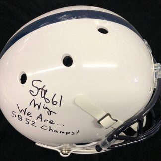 Penn State Nitany Lions Stefen Wisniewski Autographed Full Size Helmet