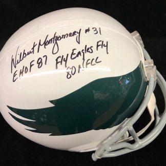 Philadelphia Eagles Wilbert Montgomery Autographed Full Size Helmet