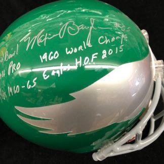 Philadelphia Eagles Maxie Baughan Autographed Full Size Helmet