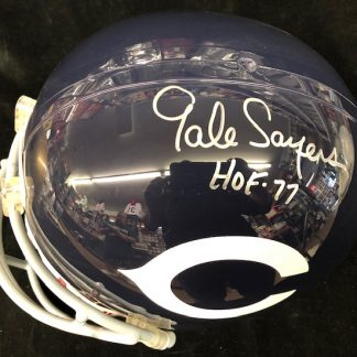 Autographed Full Size Football Helmets