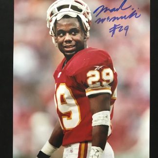 Kanas City Chiefs Mark McMillian Autographed 8 x 10