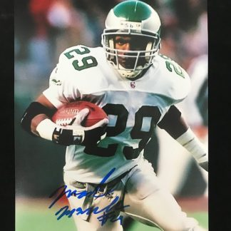Philadelphia Eagles Mark McMillian Autographed 8 x 10