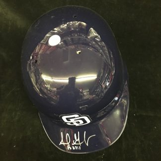 San Diego Padres Adrian Gonzalez Autographed Full Size Batting Helmet