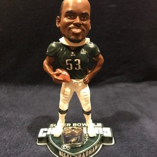 Philadelphia Eagels Nigel Bradham Super Bowl 52 RIng Base Bobblehead