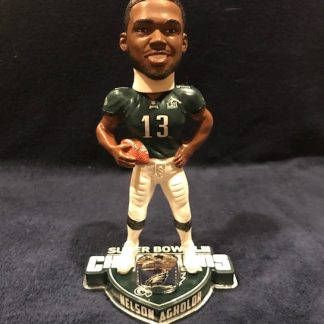 Philadelphia Eagles Nelson Agholor Super Bowl 52 Ring Base Bobblehead