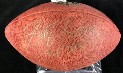 Philadelphia Eagles Bob Brown Autographed Football