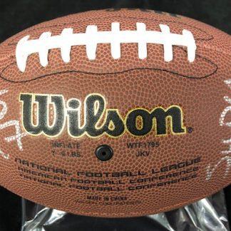 Philadelphia Eagles Dannell Ellerbe Autographed Football