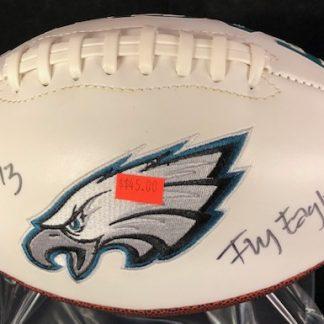 Philadelphia Eagles Josh Huff Autographed Football