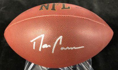 Carolina Panthers Dan Connor Autographed Football