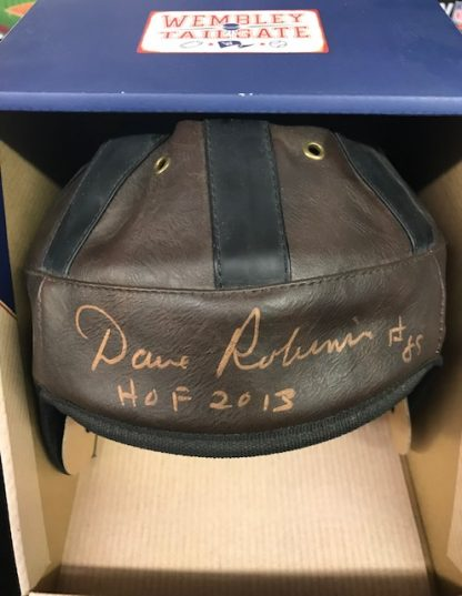 Philadelphia Eagles Dave Robinson Autographed Leather Full Size Helmet