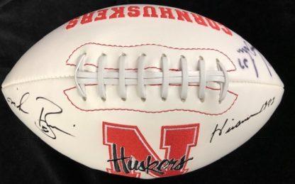 Nebraska Cornhuskers Fryar / Rozier Autographed Football