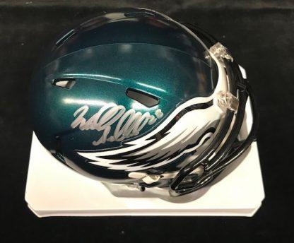 Philadelphia Eagles Wendell Smallwood Autographed  Mini Helmet