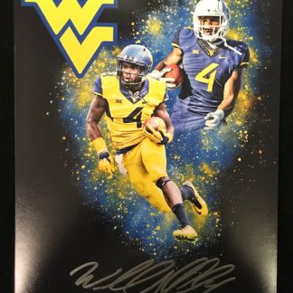 West Virgina Mountaineers Wendell Smallwood Autographed 8x10 Photo
