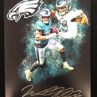 Philadelphia Eagles Wendell Smallwood Autographed 8x10 Photo