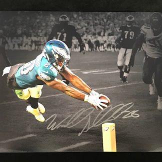 Philadelphia Eagles Wendell Smallwood Autographed 11x14 Photo