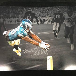 Philadelphia Eagles Wendell Smallwood Autographed 16x20 Photo
