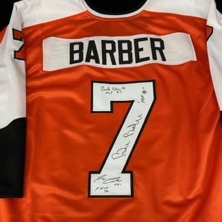 Philadelphia Flyers LCB Line Autgraphged Jersey